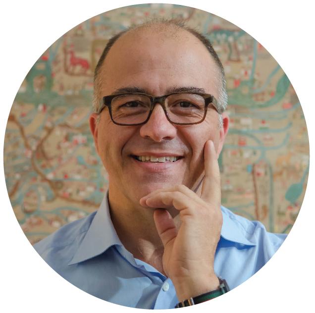 Professor of History Nicolas Wey-Gomez