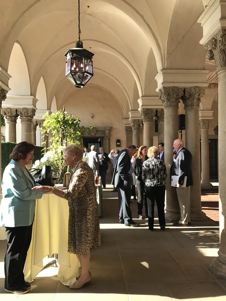 Caltech Associates Board Members Gather at the Athenaeum