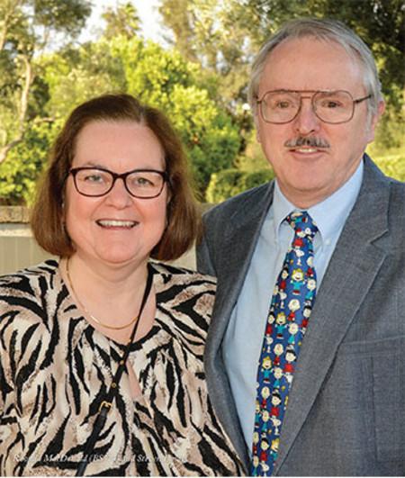 Rhonda MacDonald (BS '74) and her husband, Steven Lucas