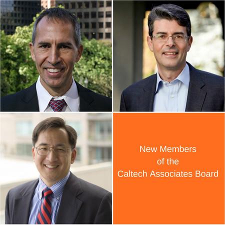 New members of the Caltech Associates Board