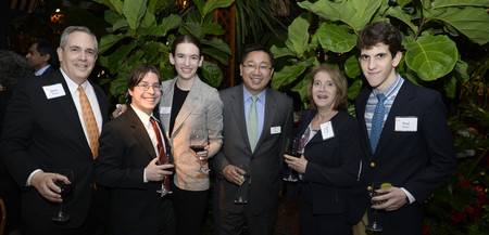 photo of Associates East Coast Chapter members at the President's Circle Recognition Dinner