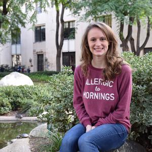 Caltech Undergraduate Hana Keller (Class of 2018)