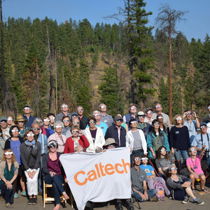 Caltech Associates President's Circle Members Enjoying the Great American Eclipse in Oregon