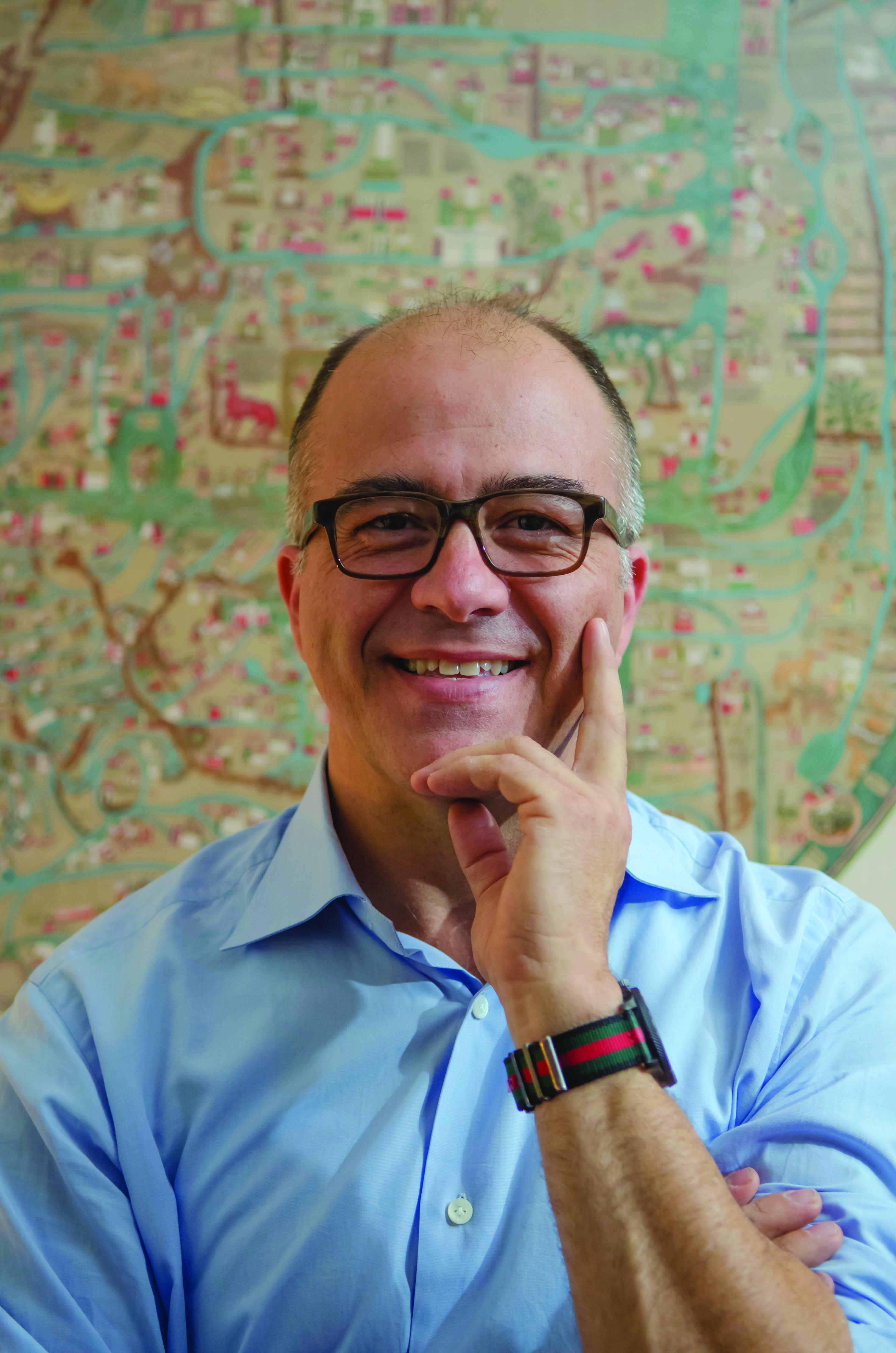 Nico Wey-Gomez, professor of history